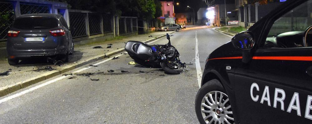 incidente stradale con un altro veicolo